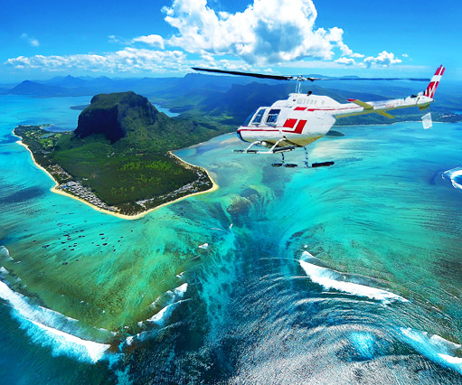 Mauritius Helicopter, Sightseeing Flights, Seaplane and Skydiving