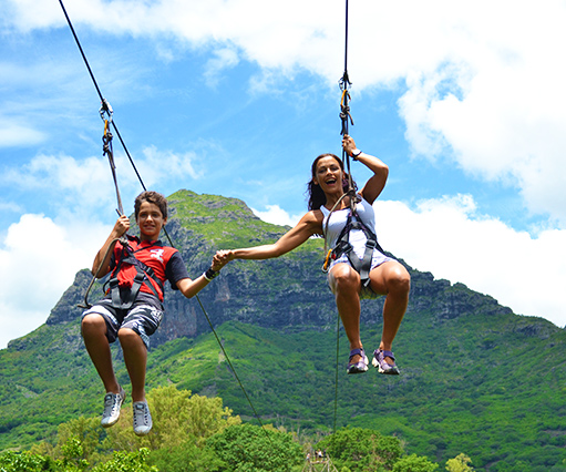 Mauritius Canyoning and Zip lines Activities
