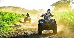 Full Day Quad Bike Discovery Tour in the South