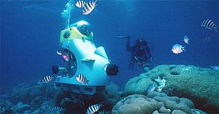 Underwater Adventures Day - 1 Day Package