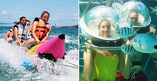 Water & Sea Activities On The East Coast – 1 Day Package