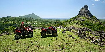 2-Hour Quad Bike Trip in the South of Mauritius