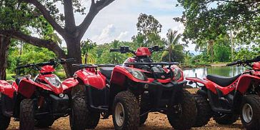 Quad Biking Adventure in the West of Mauritius
