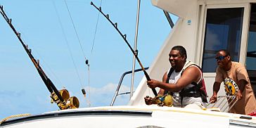 Full Day Big Game Fishing trip from Black River Mauritius