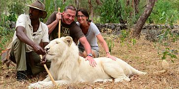 Walking with Lions Adventure in Mauritius