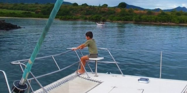 Private catamaran sunset cruise with dinner black river (12)