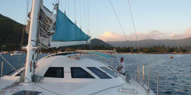 Private catamaran sunset cruise with dinner black river (18)