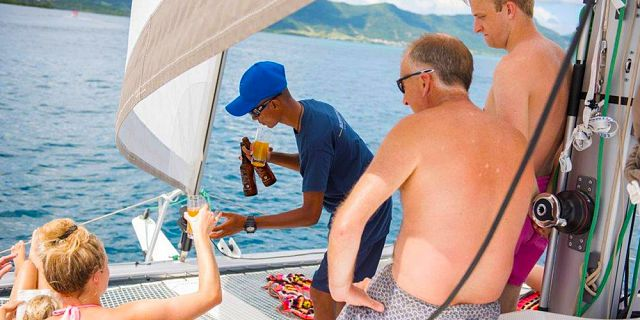 Private overnight catamaran cruise with dinner snorkelling (12)